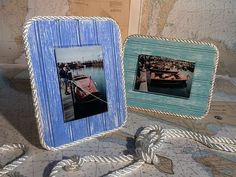 Coastal Photo Frame