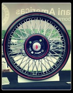 Old-school quality made for new-school cars! Borrani wire rims built for MINIs and Fiat 500s!