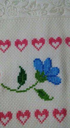 Cross Stitch Fabric, Cross Stitch Flowers, Cross Stitch Designs, Cross Stitch Patterns, Blackwork, Elsa, Diy And Crafts, Embroidery, Knitting