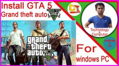 how to download and install ♦♦GTA 5♦♦ in pc windows 10,full game downloa...