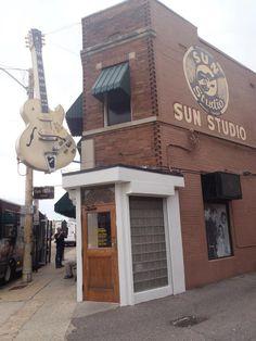 Sun Studios, Memphis, Where Elvis, Jerry Lee Lewis & Johnny Cash recorded