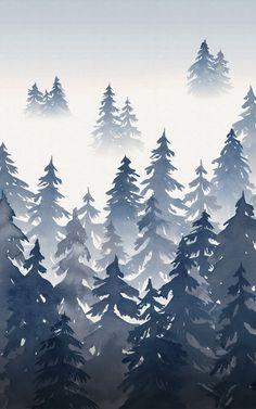 36 Best Carta Da Parati Con Foresta Images Forest Wallpaper