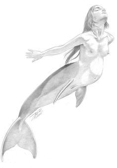 Pregnant mermaid 2455597 by empyrean on deviantART