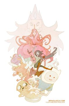 Adventure Time tribute by DarkSunRose.deviantart.com on @deviantART