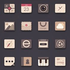 UI Icon Design by Kindesign !