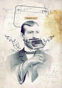 """Eduardo Recife. Graphic designer, Illustrator. """"Caution""""."""