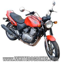 The Honda CB500 Twin.... The mainstay or commuters, couriers and training schools :)