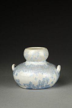 Stoneware with crystalline glaze, early 1900s. Alexis Boisonnet artist.