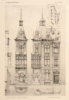 Schaerbeek - Verwée-Huis - Place Colignon 12 - VAN MASSENHOVE Henri