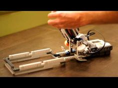 Lego Mindstorms - Die Roller - YouTube Lego Nxt, Lego Mindstorms, Science Fair, Robotics, Can Opener, Tech, Youtube, Robots, Technology