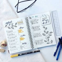 "111 mentions J'aime, 2 commentaires - Bullet Journal Lovers (@bulletjournallovers) sur Instagram : ""If you want to see more like these, please follow: @thejessilane #bulletjournal #bujo #inspiration…"""
