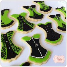 Corset cookies My Cookie Couture