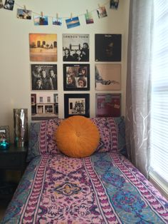 We loved using the albums as wall art.