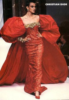 Being from 1992 this dress is a bit out there, but I must admit this dress would make me feel like I could own any room.
