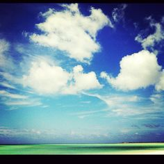 Just another day @GansevoortTC! #cloudporn #turksandcaicos #provo #beach #life
