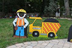 Construction Dump Truck Photo Prop by LittleGoobersParty on Etsy