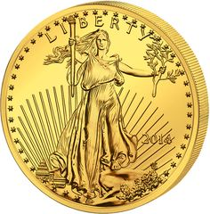 Walking Lady Liberty Gold Coin/$1 | Silber- und Goldunzen USA | 1/4 Unze Eagle Liberty 2014