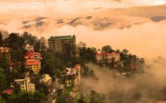 Beautiful City of Hills: Shimla, India