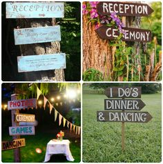 outdoor rustic wedding decorations | 2013 wedding Trends—Outdoor Wedding Ideas - Wedding Planning ...