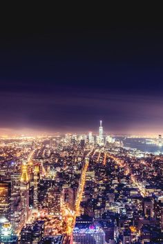NYC ~ view from Empire State Building