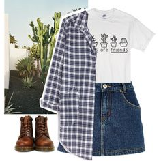 Untitled #30 by kittymaid on Polyvore featuring polyvore fashion style CP Shades River Island Dr. Martens