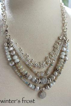 necklace rainbow moonstone necklace white necklace druzy