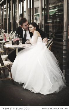 Paris Je T'aime - Inspiration | Be Inspired, Weddings | The Pretty Blog