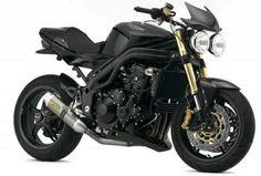 Triumph Speed Triple Black Carbon