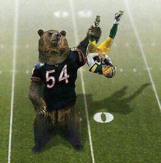 Chicago Bears / Da Bears vs Packers