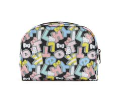 Hello Kitty Cosmetic Pouch: Bold Block Letters