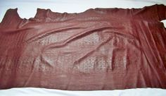 Lambskin Top Quality leather skin hide Snow White 9.50 Sq.Ft 2 oz.