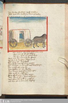 381 [186r] - Ms. germ. qu. 6 - Der Renner - Page - Mittelalterliche Handschriften - Digitale Sammlungen Schwaben, [1446; um 1450]