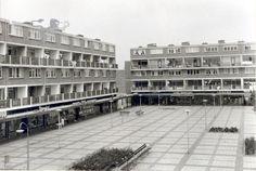 Het winkelcentrum Heechterp.