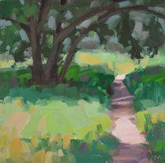 Carol Marine's Painting a Day: Way Under Tree