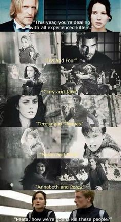 I think Teresa and Thomas would be pretty easy, they only run. Should have put in Dimitri and Rose.
