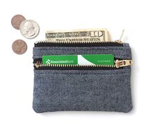 Hey, I found this really awesome Etsy listing at https://www.etsy.com/listing/470213308/denim-wallet-pouch-double-zipper-coin