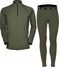 dade2524fb821 Human Energy Concealment System Hecs Base Layer Pants and Shirt Green Medium.  Archery Station · Specialty Hunting Clothing