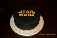 Chocolate buttercream Star Wars cake