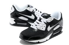 sneakers for cheap 2fdb7 eea35 Now Buy Nike Air Max 90 Womens White Black Online Save Up From Outlet Store  at Footlocker.