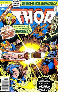 Thor Annual #7 (1978) cover by Walter Simonson.