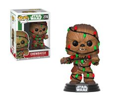 Funko Star Wars Holiday Chewbacca with Lights POP! Star Wars Jokes, Star Wars Facts, Star Wars Tattoo, Chewbacca, Star Wars Christmas, Christmas Lights, Disney Christmas, Christmas Crafts, Holiday Pops
