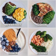 Weightloss Dinner meal Plan Fish and chicken is very easy to prepare, Flavor doesn't have to equal fat, and low-fat doesn't have to equal eating cardboard. Eat Healthy And Stay Fit Healthy Meal Prep, Easy Healthy Recipes, Healthy Snacks, Healthy Eating, Yummy Recipes, Dinner Healthy, Meal Recipes, Healthy Drinks, Clean Eating