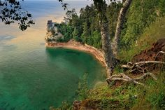 """Miners Castle"" Pictured Rocks National Lakeshore - Munising , Michigan, via Flickr."