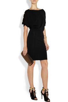 Versace Fine-knit wool dress NET-A-PORTER.COM
