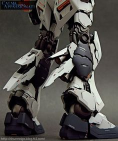 "MG 1/100 nu Gundam Ver. Ka ""GBWC 2013 Champion"" - Custom Build - Gundam Kits…"