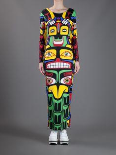 Adidas Originals By Jeremy Scott 'Totem Pole' Dress