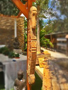 Madera Bali tallada a mano Antigüedad Trosset Renova Costablanca Un detalle original para dentro o fuera de tus casa