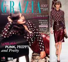 That shirt has a place in my wardrobe. Now I just need someone to gift it to me. :) Sonakshi Sinha In Burberry for grazia november 2013