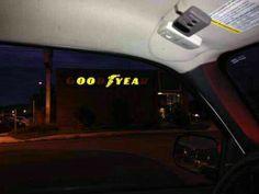 I think Macho Man Randy Savage worked here... Or the Kool Aid man