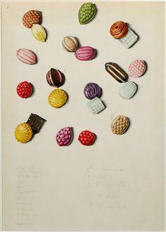 Carla Badiali per Legler, 1955, disegno oer cotone stampato